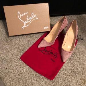 Pink Christian Louboutin Heels